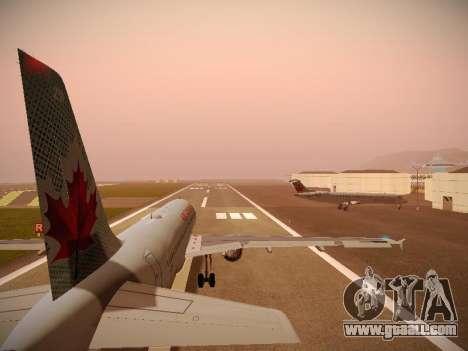Airbus A320-214 Air Canada for GTA San Andreas engine