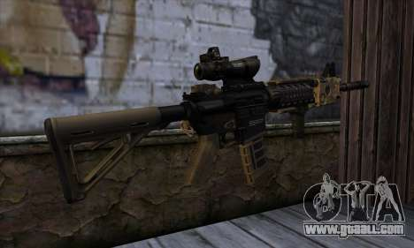 AR15 bushmaster for GTA San Andreas second screenshot
