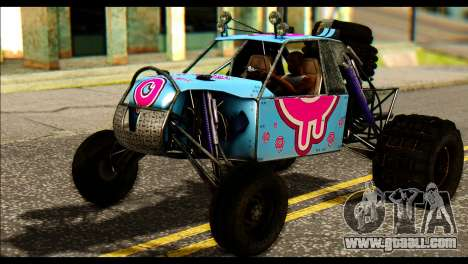 Buggy Fireball from Fireburst PJ for GTA San Andreas right view