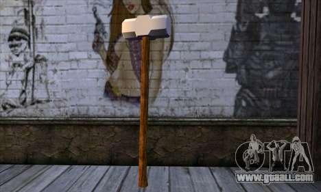 Sledgehammer for GTA San Andreas second screenshot