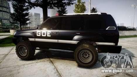 Toyota Land Cruiser 100 GOE [ELS] for GTA 4 left view