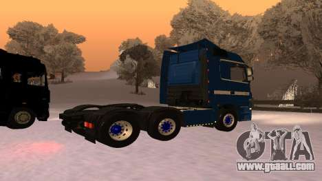 Mercedes-Benz Actros for GTA San Andreas back left view