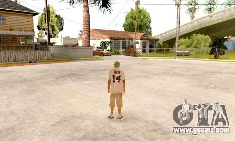 Varios Los Aztecas Gang Skin pack for GTA San Andreas sixth screenshot