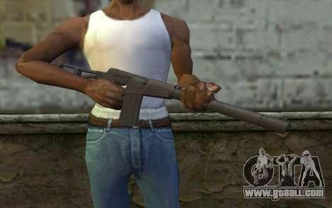 AU VAL (Battlefield 3) for GTA San Andreas third screenshot