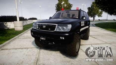 Toyota Land Cruiser 100 GOE [ELS] for GTA 4