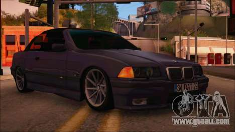 BMW M3 E36 Cabrio 34 DAT 29 for GTA San Andreas