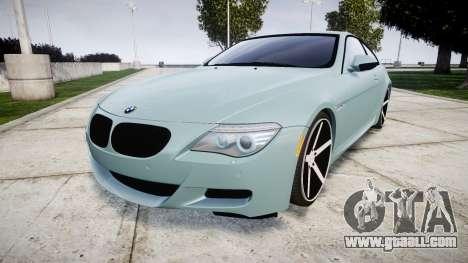 BMW M6 Vossen VVS CV3 for GTA 4