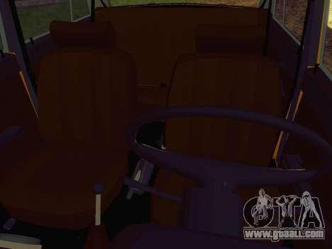 VAZ 2106 GAI for GTA San Andreas