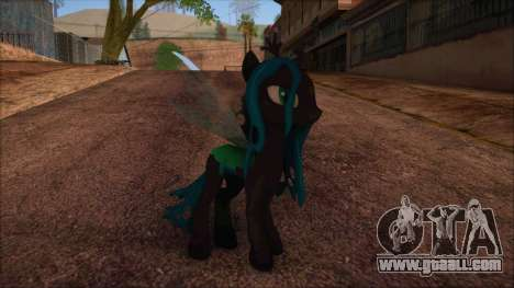 Chrysalis from My Little Pony for GTA San Andreas
