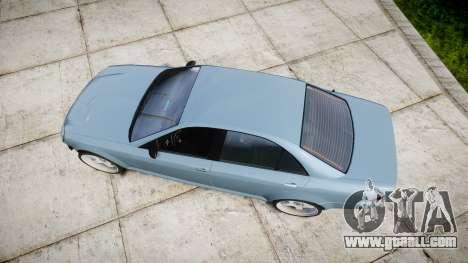 Benefactor Schafter Gen. 1 Grey Series for GTA 4 right view