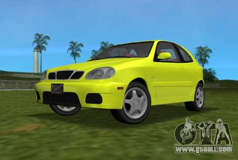 Daewoo Lanos Sport US 2001 for GTA Vice City back view