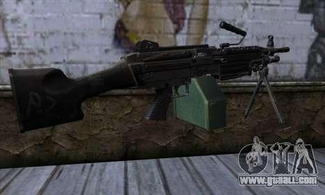 M249 v1 for GTA San Andreas second screenshot