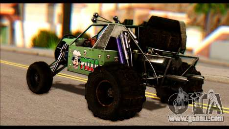 Buggy Fireball from Fireburst PJ for GTA San Andreas left view