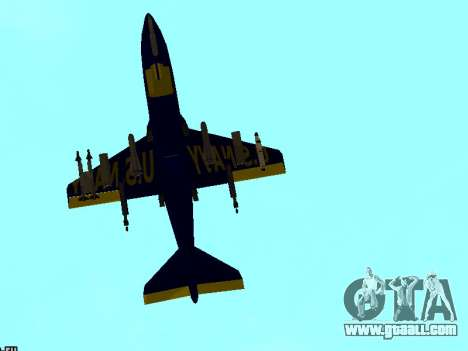 BlueAngels Hydra for GTA San Andreas right view
