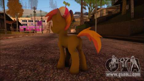 Button Mash from My Little Pony for GTA San Andreas second screenshot