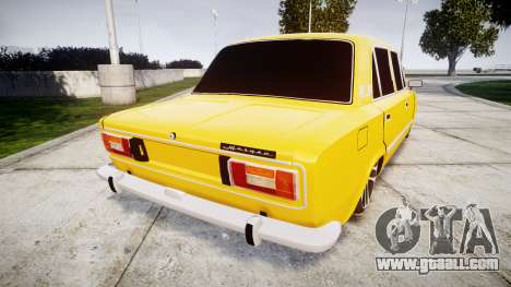 VAZ-2106 for GTA 4 back left view