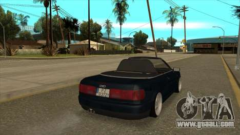 Audi 80 Cabrio for GTA San Andreas left view