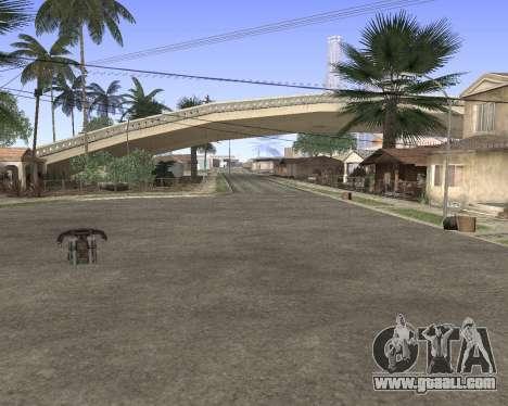 Texture Los Santos from GTA 5 for GTA San Andreas sixth screenshot