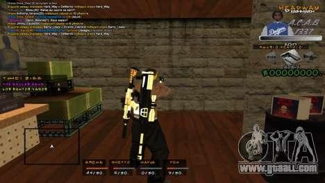 C- HUD A.C.A.B for GTA San Andreas second screenshot