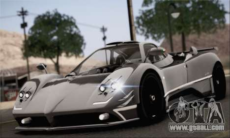 Pagani Zonda 760RS for GTA San Andreas