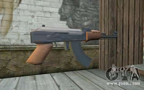 AK-47 Without the Butt for GTA San Andreas second screenshot