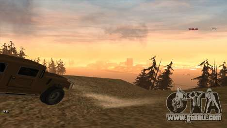 Трасса Offroad v1.1 by Rappar313 for GTA San Andreas