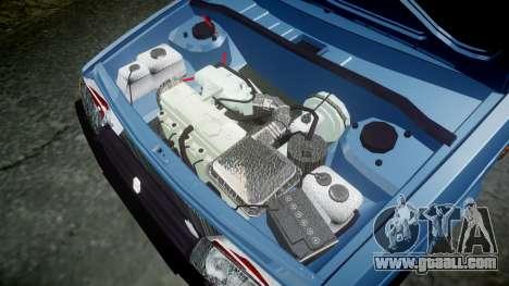 VAZ-Lada 2109 1500i for GTA 4 inner view