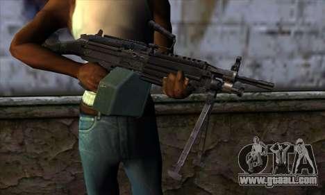 M249 v1 for GTA San Andreas third screenshot