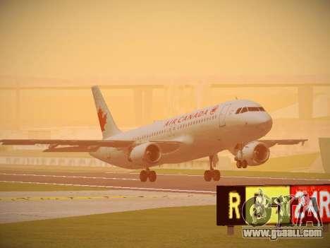 Airbus A320-214 Air Canada for GTA San Andreas