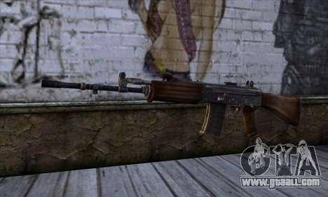 IOFB INSAS from Sniper Ghost Warrior 2 for GTA San Andreas