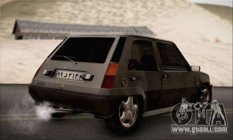 Renault 5 for GTA San Andreas left view