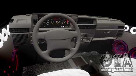 VAZ-2109 Nine for GTA 4 inner view