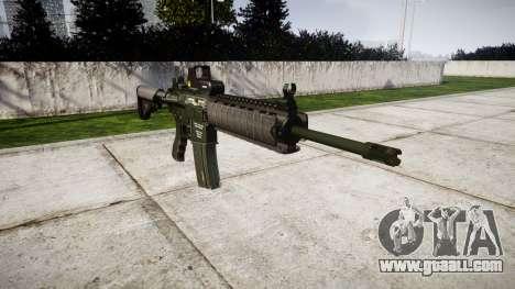 Machine M4A1 for GTA 4