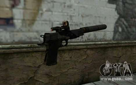 New  Silenced for GTA San Andreas second screenshot