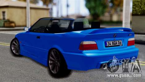 BMW M3 E36 Cabrio for GTA San Andreas left view