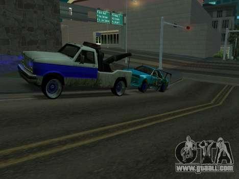 Nissan Skyline R34 EvilEmpire for GTA San Andreas back left view