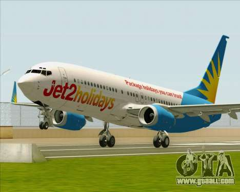Boeing 737-800 Jet2Holidays for GTA San Andreas