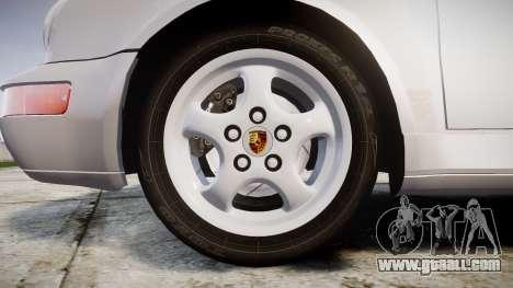 Porsche 911 (964) Coupe Razval for GTA 4 back view