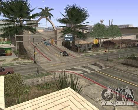 Texture Los Santos from GTA 5 for GTA San Andreas second screenshot