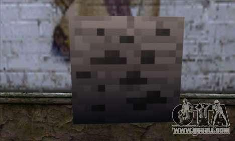 Block (Minecraft) v3 for GTA San Andreas