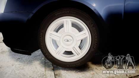 ВАЗ-2170 Lada Priora stock for GTA 4 back view