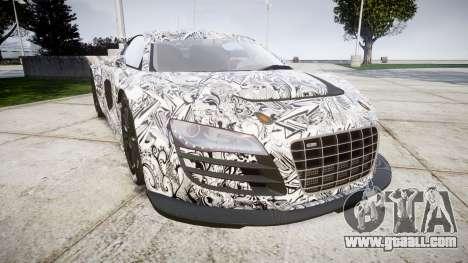 Audi R8 LMS Sharpie for GTA 4