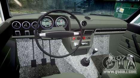 VAZ-2106 aquarium for GTA 4 back view