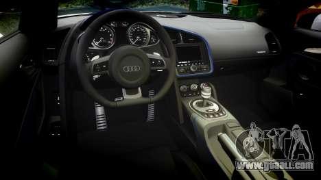 Audi R8 LMX 2015 [EPM] Sticker Bomb for GTA 4 inner view