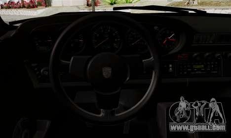 Porche 911 Turbo 1982 for GTA San Andreas right view