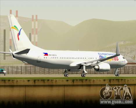 Boeing 737-800 South East Asian Airlines (SEAIR) for GTA San Andreas wheels