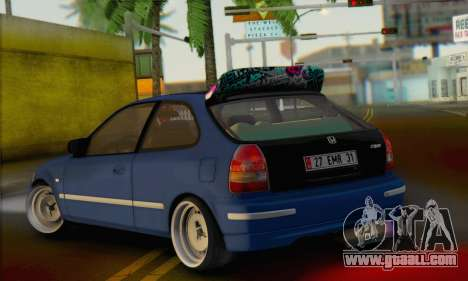 Honda Civic V Type EMR Edition for GTA San Andreas left view