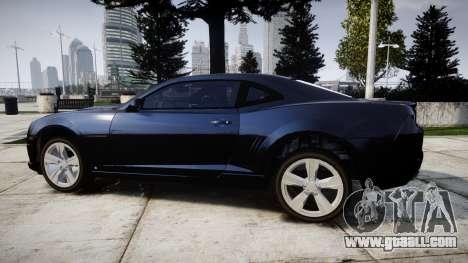 Chevrolet Camaro SS [ELS] Unmarked interceptors for GTA 4 left view