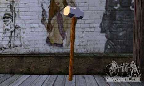 Sledgehammer for GTA San Andreas