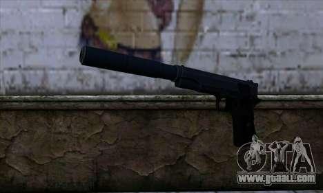 New Silenced Colt45 for GTA San Andreas